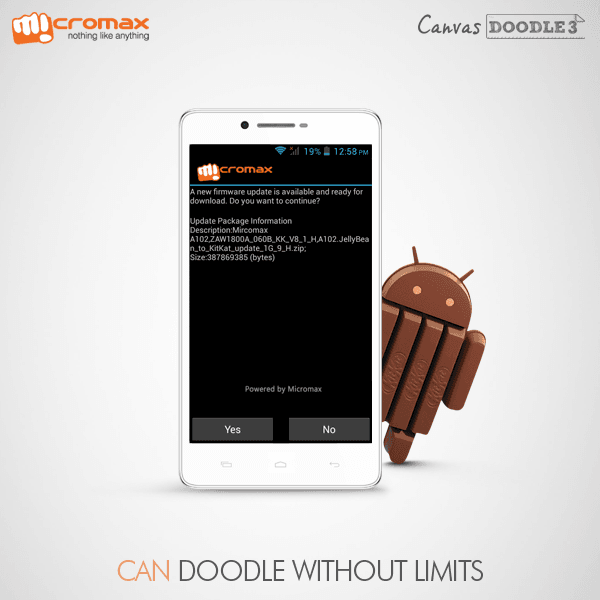 Update-Micromax-doodle-3-a102-to-android-4.4-kitkat