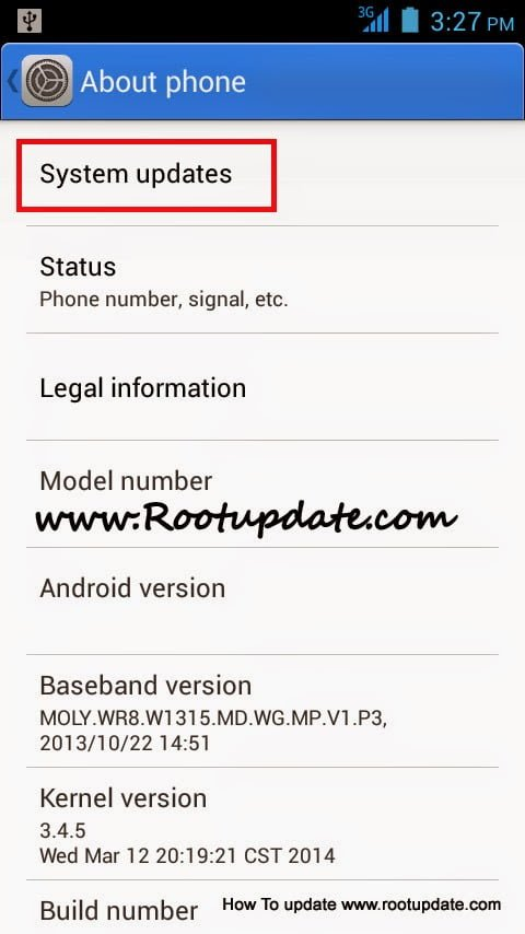 upgrade android version