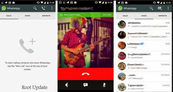 How To Activate Call In whatsapp For Non Lollipop Android Versions without Root .