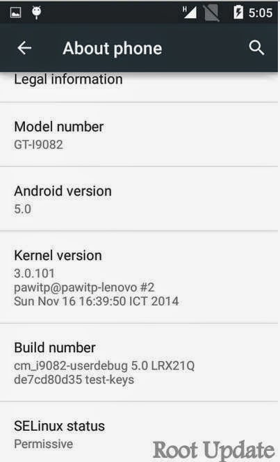 How To Update Samsung Galaxy grand Duos I9082 to Official Android Lollipop 5.0 With Cyanogen Mod 12