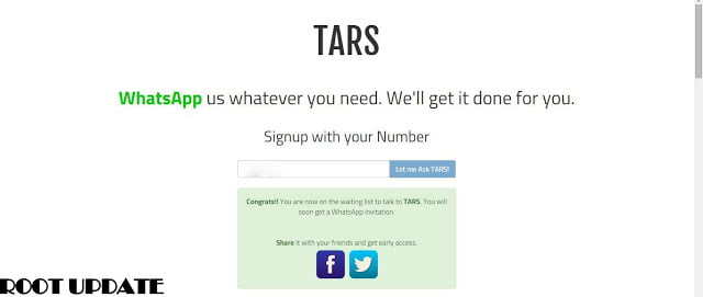 TARS-A-Whatsapp-Based-Personal-Assistant