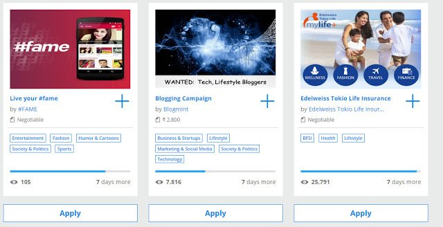 apply-for-campaigns-in-blogmint-to-get-sponsored-posts