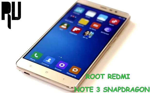How-to-root-redmi-note-3