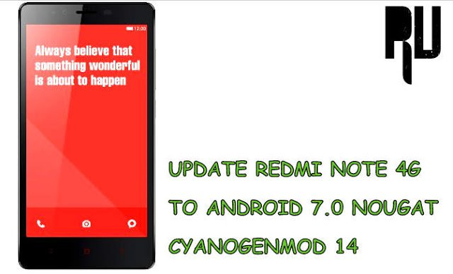 Cm14-nougat-7.0-n-update-for-redmi-note-4g